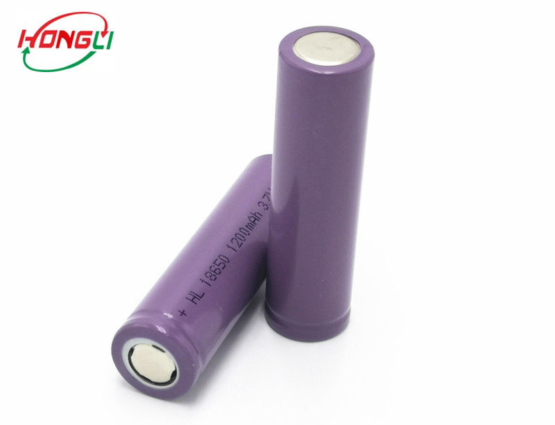 Stable Performance 1200mah lithium ion battery 18650 rechargeable battery